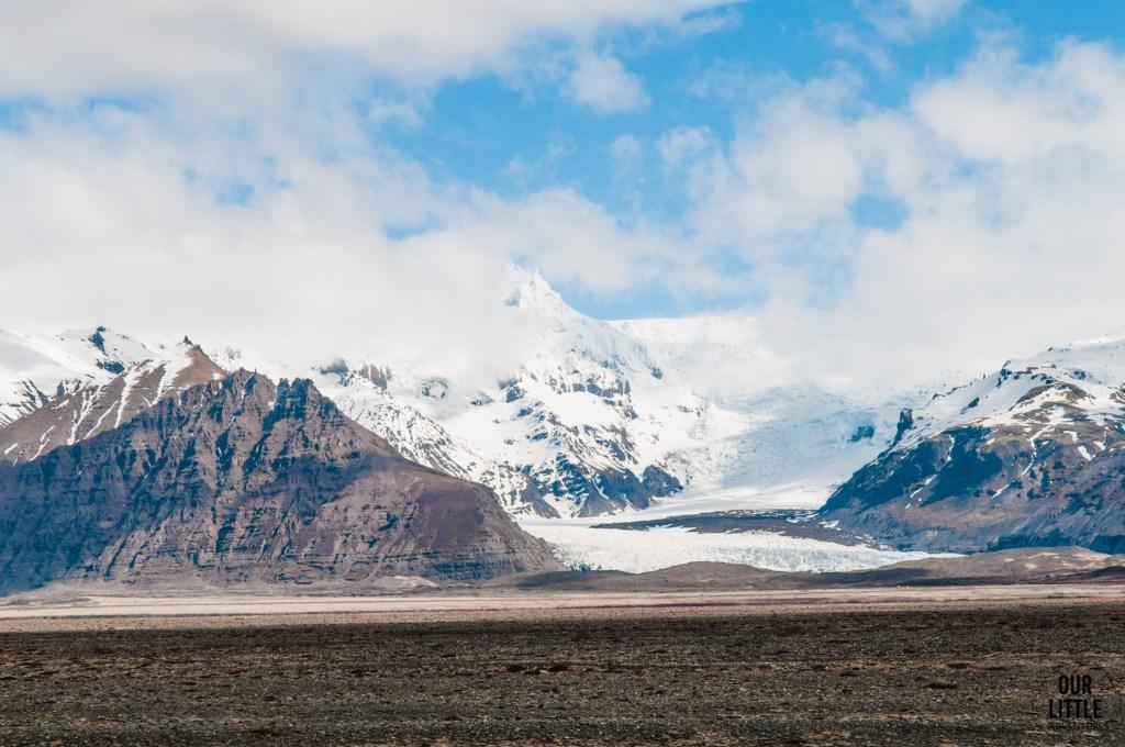 Parku Narodowym z lodowcem Vatnajokull