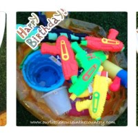 Water Themed Birthday Party Games!