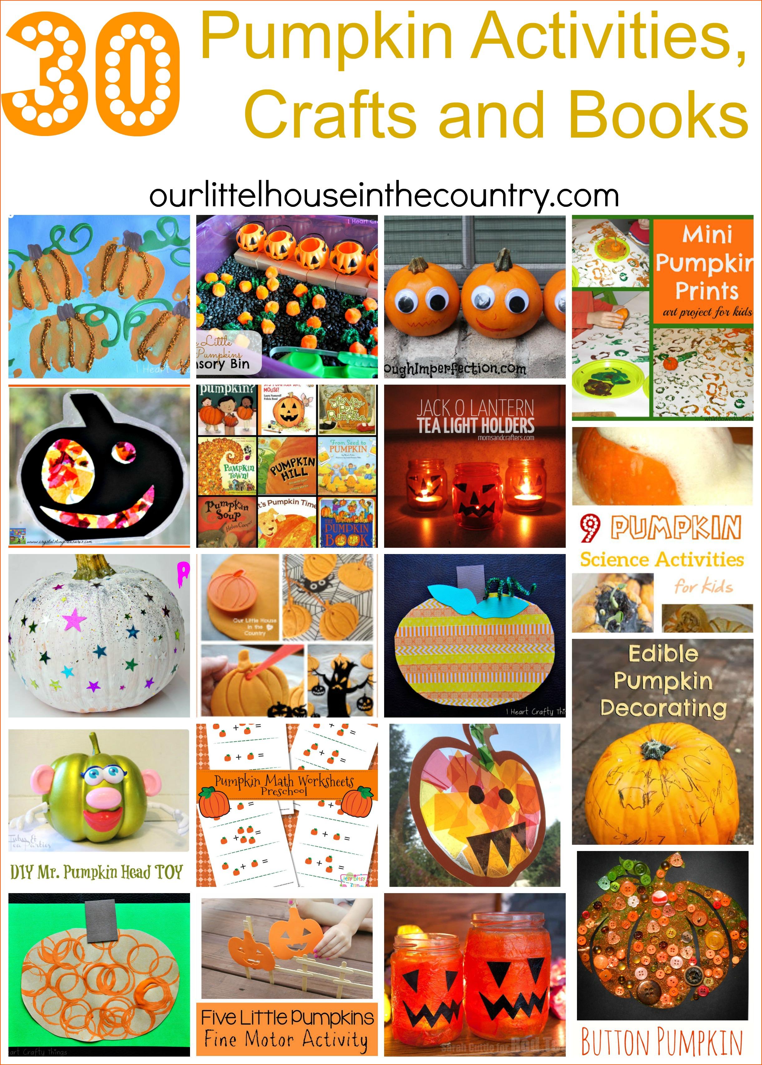 30 Pumpkin Activities Crafts And Books