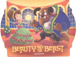 BEAUTY & THE BEAST - A Pop-Up Book 2 (Kids Activities)