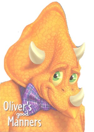 Oliver's Good Manners - Dino Head Board Book (Kids Story Books)