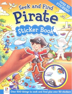Seek and Find – PIRATE Sticker Book (Kids Activities)