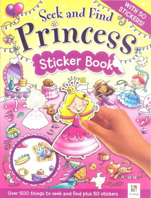 Seek and Find – PRINCESS Sticker Book (Kids Story Books)