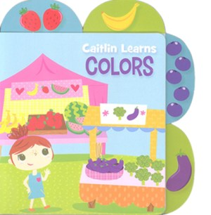Educational Tab Series – Caitlin Learns Colors (Kid's Educational Books)