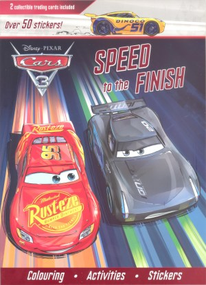 Disney Coloring, Stickers and Activity Book - CARS 3 (Kids Activities)