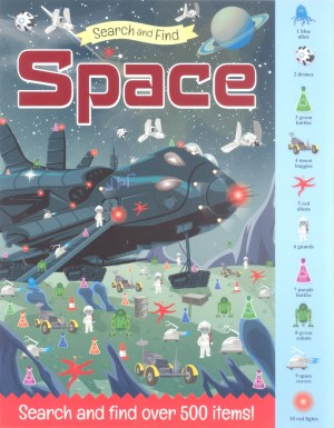 Search And Find Book - SPACE (Kids Activities)