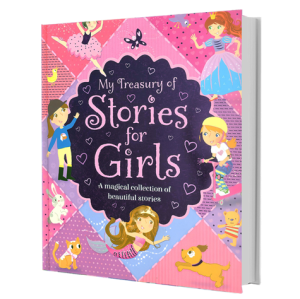 My Treasury of Stories for Girls (Kids Story Book)