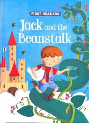 FIRST READERS Series - JACK & THE BEANSTALK (Kids Story Book)