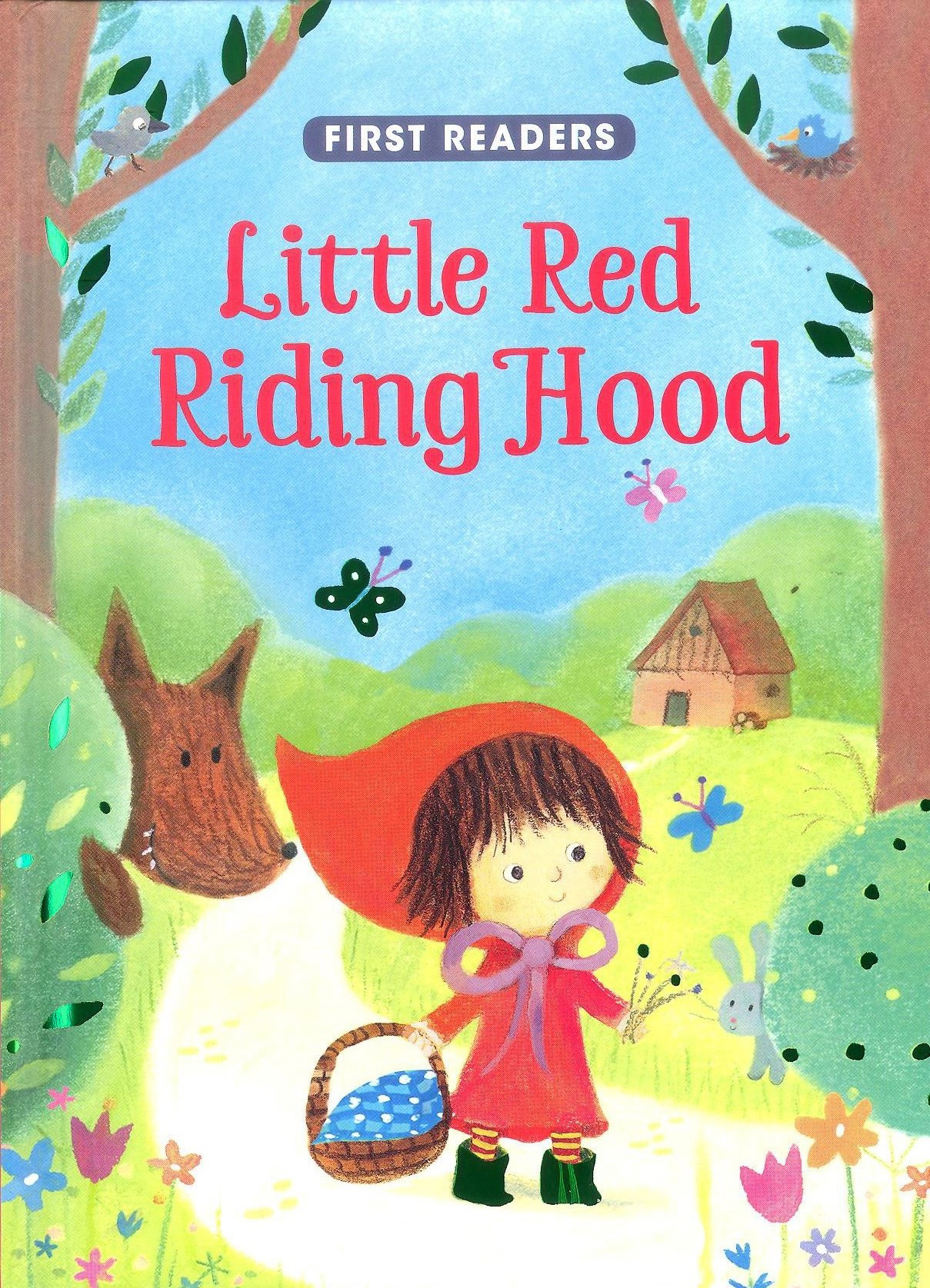 First Readers Series Little Red Riding Hood Kids Story Book