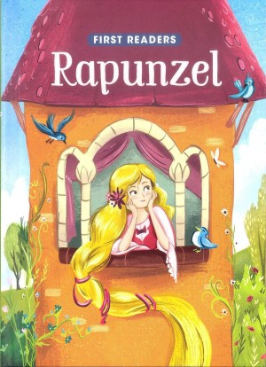 FIRST READERS Series - RAPUNZEL (Kids Story Book)