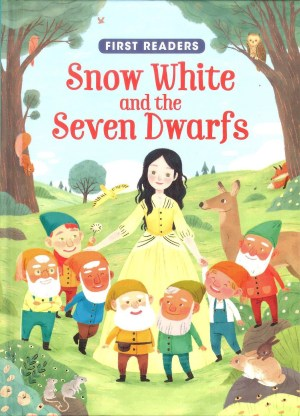 FIRST READERS Series - SNOW WHITE & THE SEVEN DWARFS (Kids Story Book)