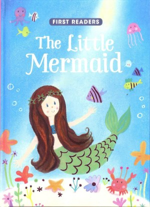 FIRST READERS Series - LITTLE MERMAID (Kids Story Book)