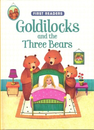 FIRST READERS Series - GOLDILOCKS & THE THREE BEARS (Kids Story Book)