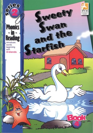 Phonics in Reading Series 2: Book 4 - BSweety Swan & the Starfish (Kid's Educational Books)