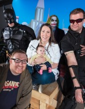 The League of Super Heroes - donations for photos went to CHEO, how could we NOT participate?!