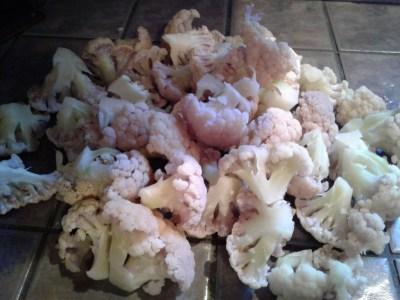 drain-cut-up-cauliflower