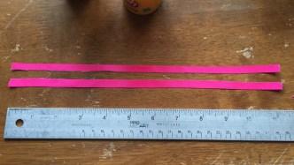Cut Ribbon in Half