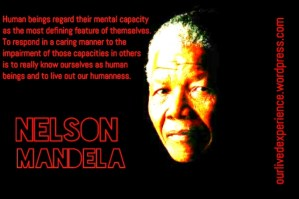 Mandela quote - mental health
