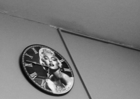 Fluanxol branded clock in my shrink's office.