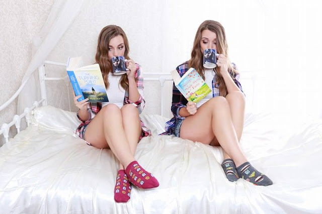 Lucy and Kelly - The Blossom Twins