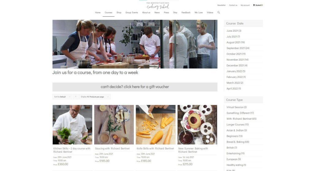 Bertinet Kitchen Cookery School
