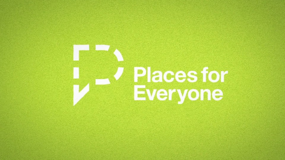 Places for Everyone logo