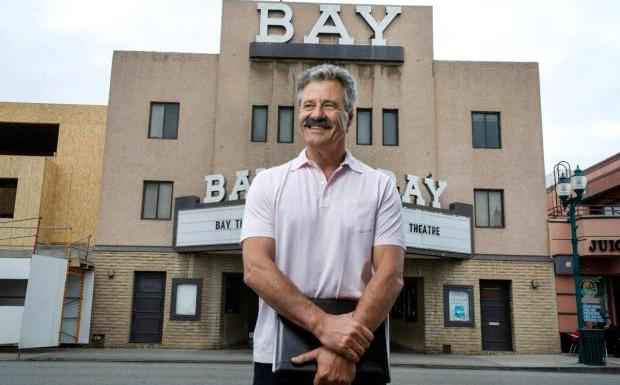 Paul Dunlap and the Bay theater
