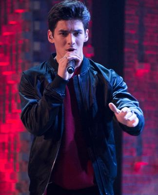 College Park East's Chance Perez performs on Boy Band