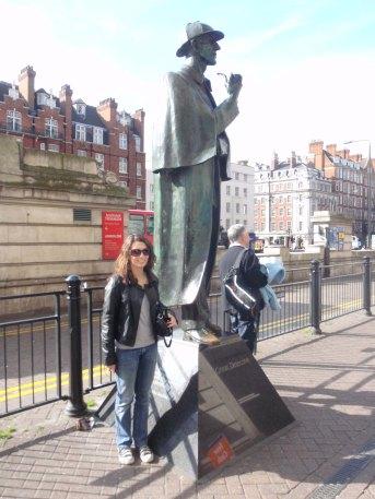 Sherlock Holmes : trottoirs de Baker Street