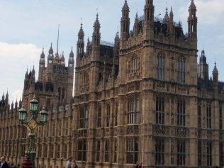 Palais de Westminster, chambres du parlement