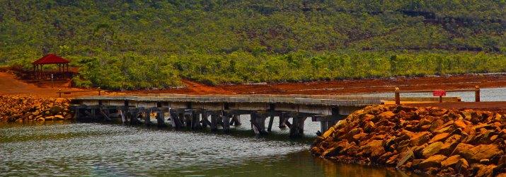 Pont Perignon, conçu pour les besoins de l'exploitation forestière