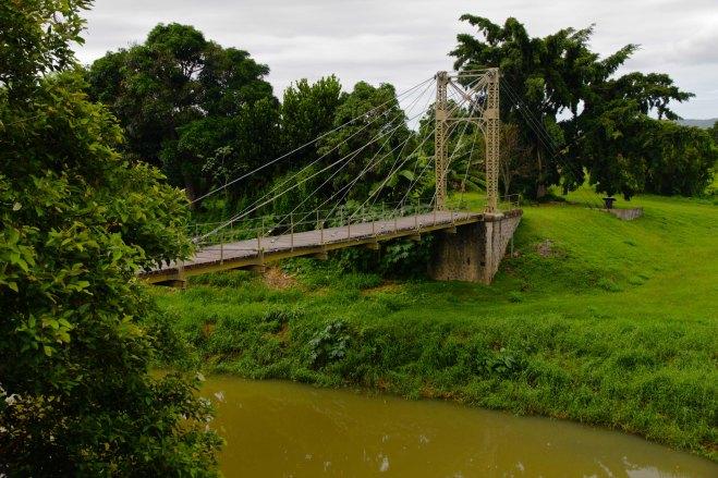 Elle porte le prénom de l'épouse du gouverneur de Nouvelle-Calédonie en poste au moment de sa construction.