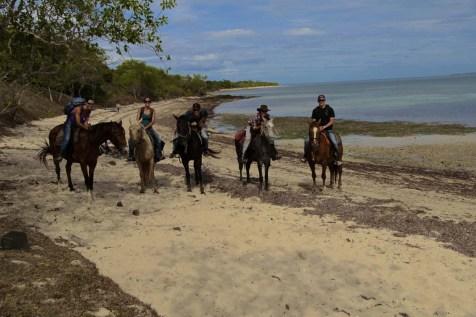 Photo du Groupe avant le retour