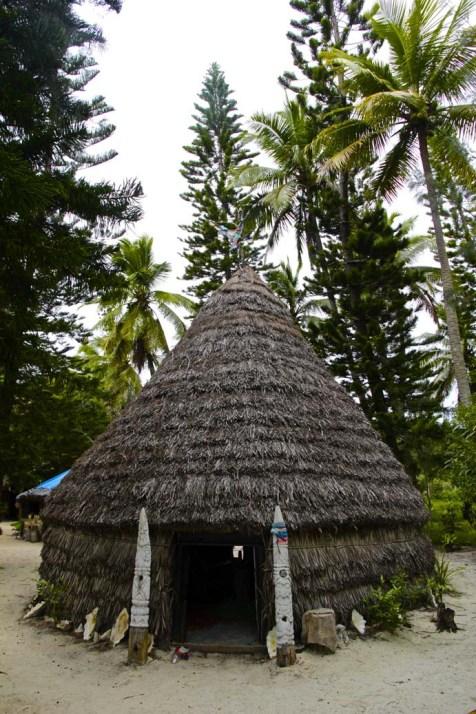 Case traditionnel de Nouvelle Calédonie