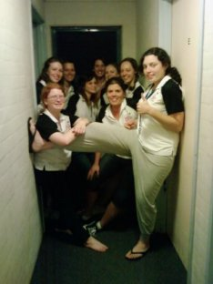 Katrina at Uni of Wollongong Girls in Engineering Summer School