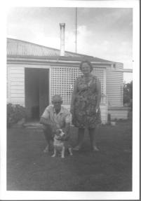 Arthur James known as Dick Adams and wife Veen