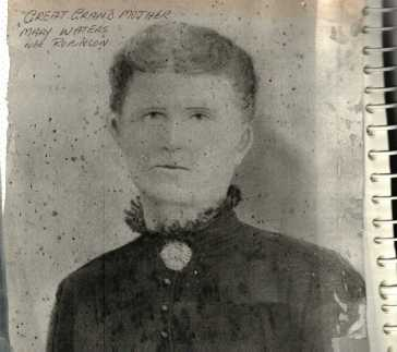 Mary Waters nee Robinson (from M Moore)