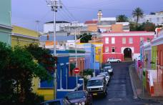 Bo-Kaap, historical centre of Malay Culture identified by colorful buildings