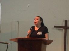 Katita Preaching.