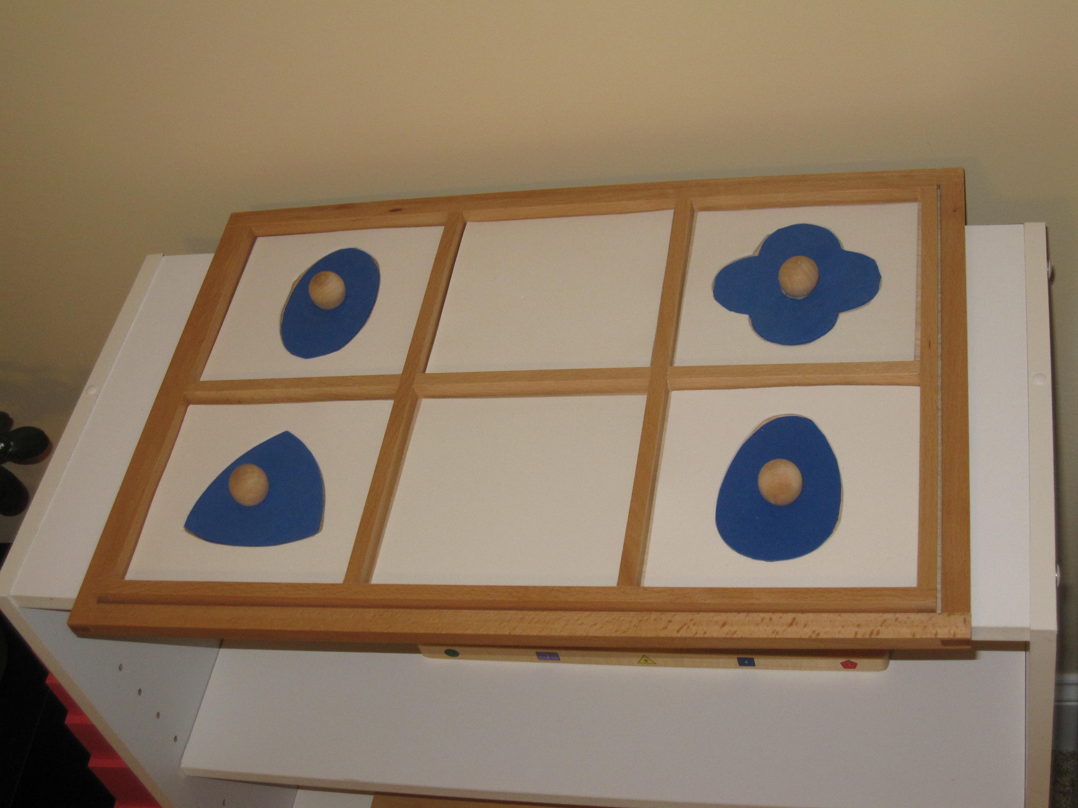 Diy Montessori Geometric Cabinet