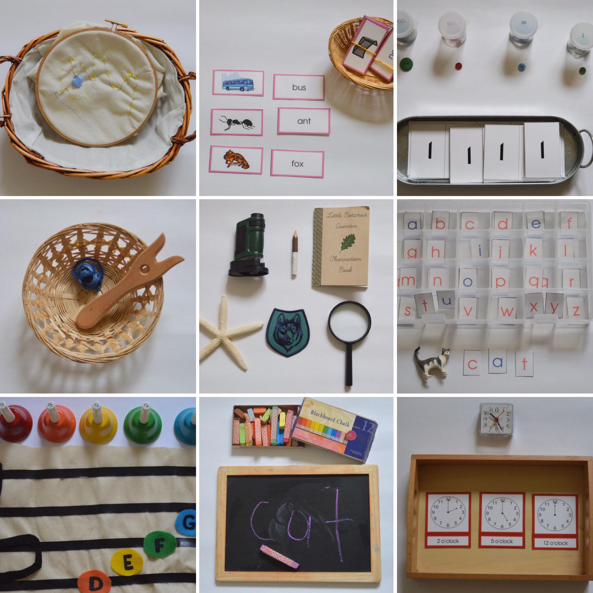 Our Montessori Shelves At 4 Our Montessori Life