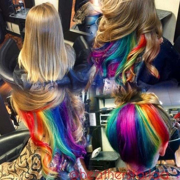 blonde-hair-with-rainbow-underneath