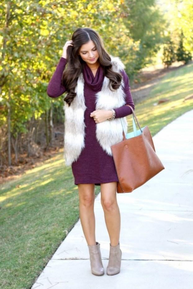 Dress Fur Vest