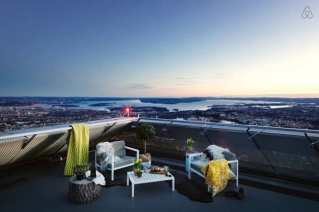 Luxury penthouse opened at the top of Holmenkollen ski jump 4