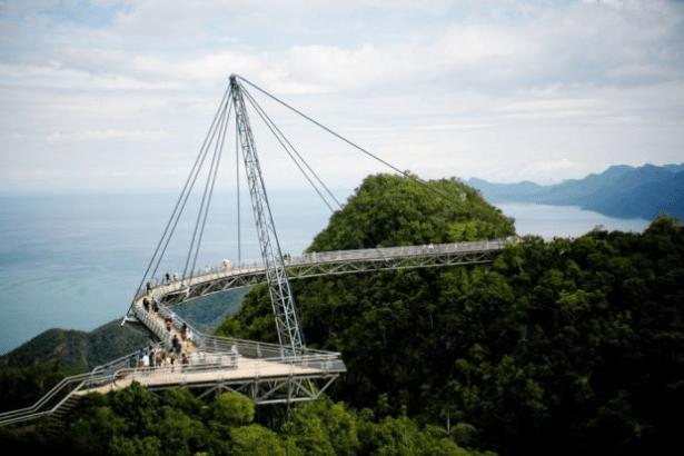 Langkawi-Sky-Bridge-In-Malaysia-Top-View