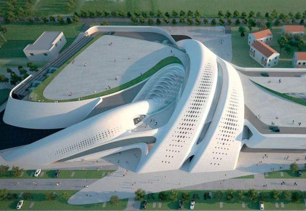 Futuristic Architecture- Jesolo Magica by Zaha Hadid Architects
