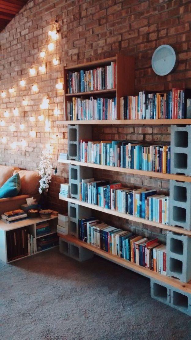 diy bookshelf ideas