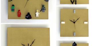 DIY-LEGO-Clock-Collage