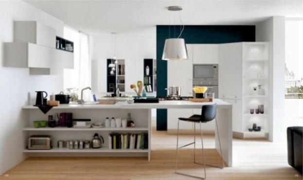 white-and-wood-kitchen design