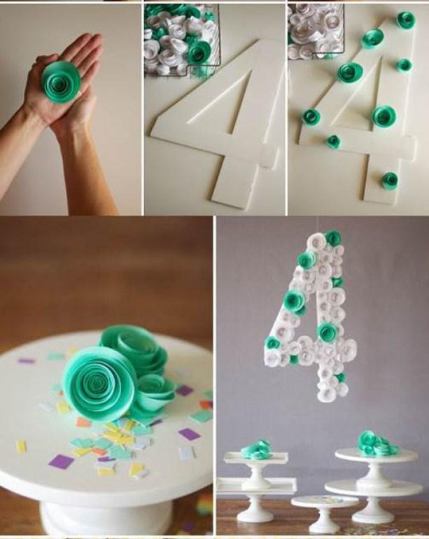 DIY-Spiral-Flower-Number-Decoration-
